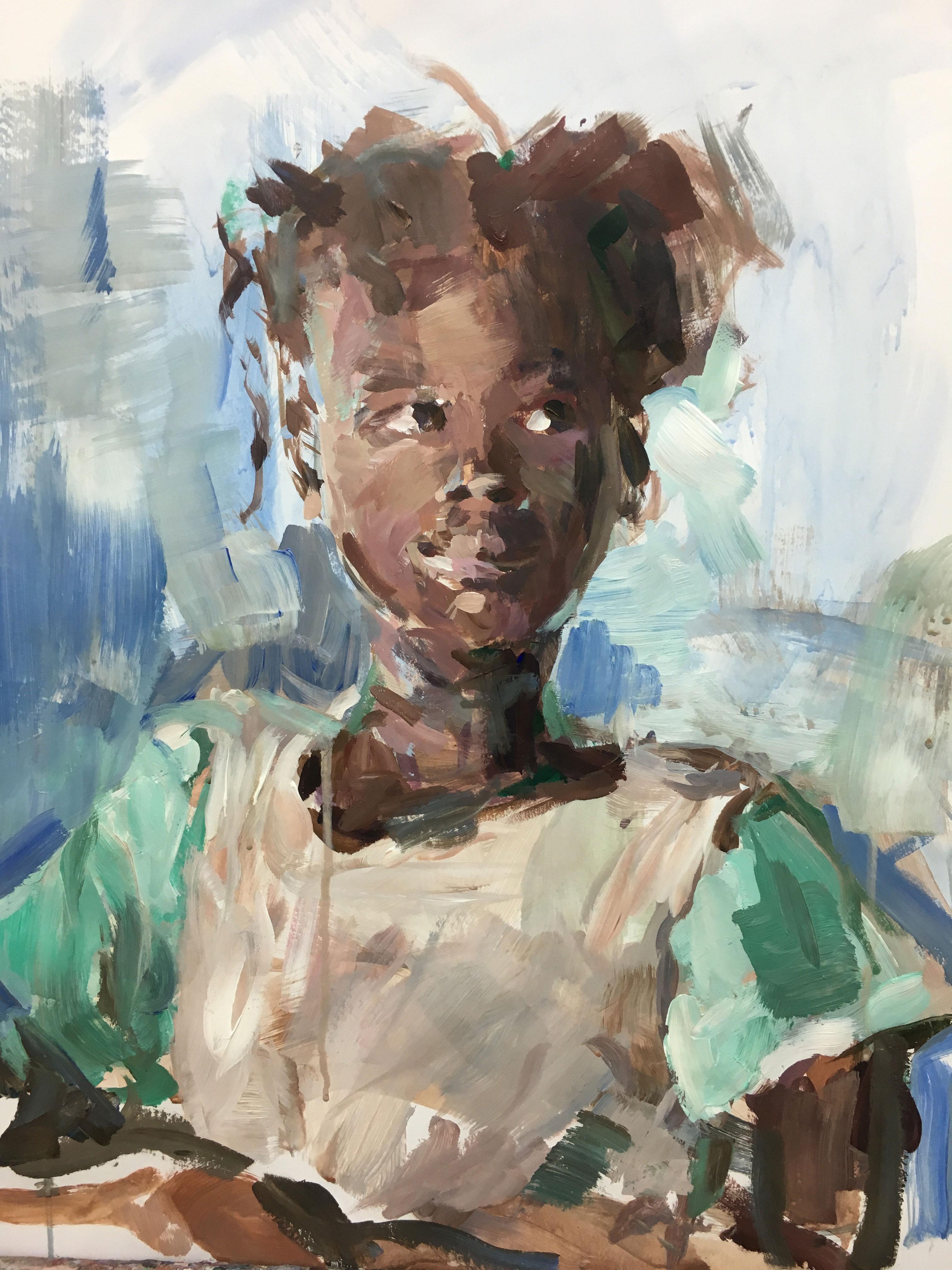 Burkinees meisje